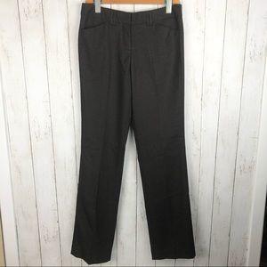 NWOT Express Editor Brown Pinstripe Pants 2